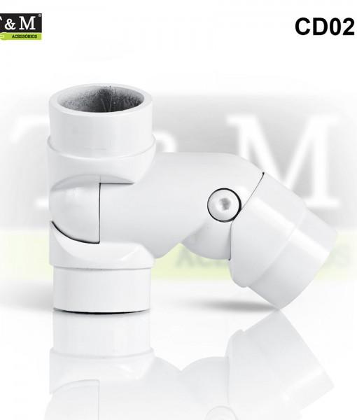 CD02D-Cotovelo-TeM-Duplo-Articulado-Direito-Aluminio-branco