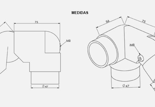 CD02D-Cotovelo-TeM-Duplo-Articulado-Direito-desenho-tecnico-Aluminio