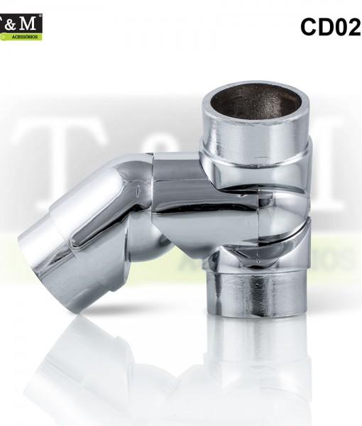 CD02E-Cotovelo-TeM-Duplo-Articulado-Esquerdo-Aluminio-cromado