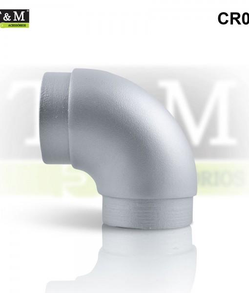 CR02-Curva-TeM-Fixa-90graus-Aluminio-cinza