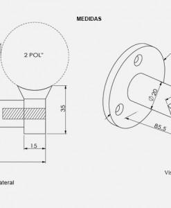 PD02-Suporte-TeM-De-Parede-desenho-tecnico-Aluminio