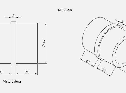 PR02-Prolongador-TeM-Para-Tubo-desenho-tecnico-Aluminio