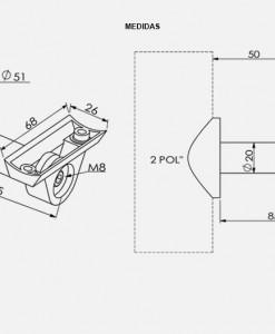 SD02-Suporte-TeM-Para-Deficiente-desenho-tecnico-Aluminio